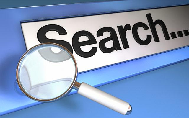 Iskanje spletne strani